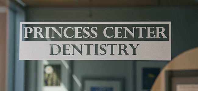Photo of Princess Center Dentistry's Logo on Door