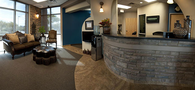 Scottsdale Dentists Office Reception Area