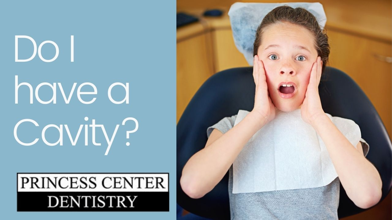 Surprised boy wondering if he has a cavity.