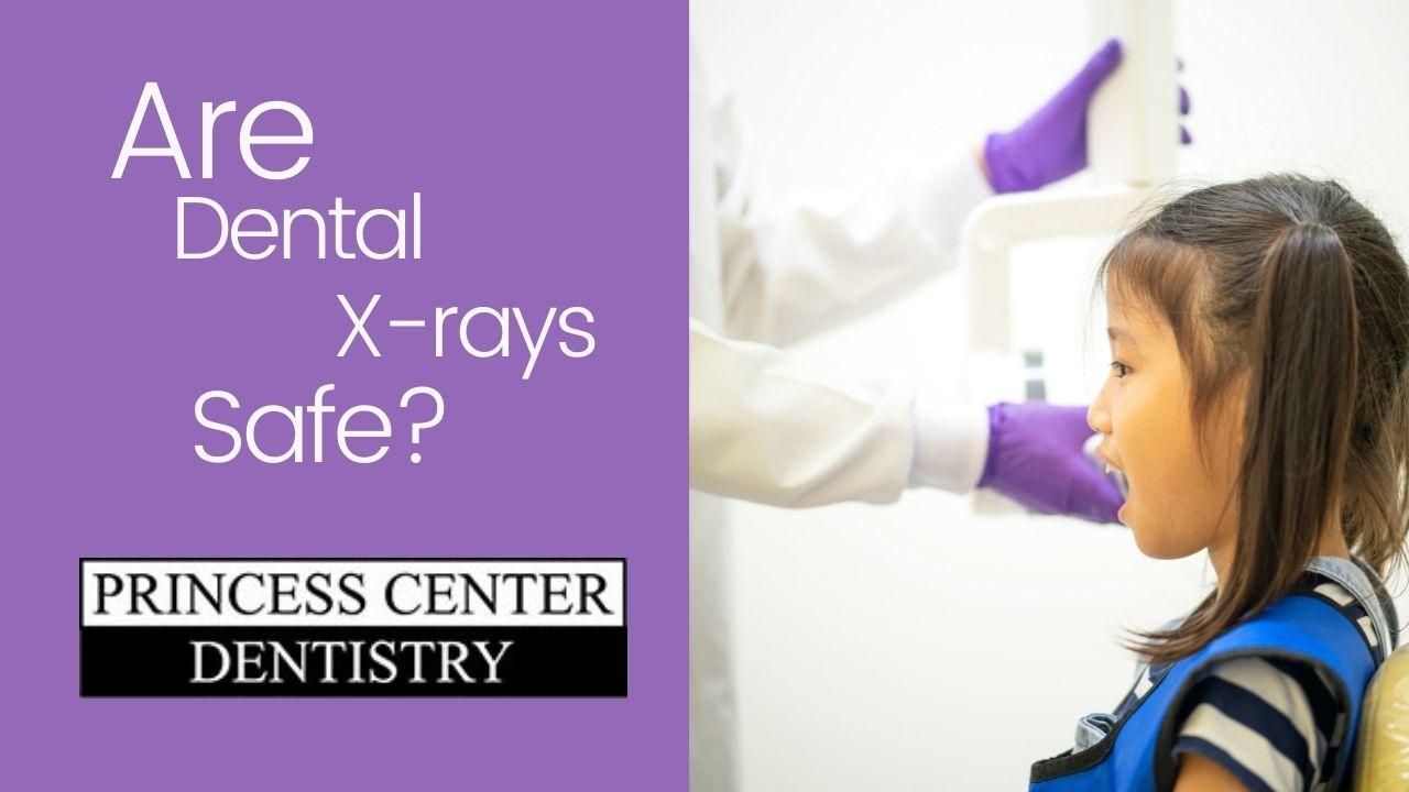 girl getting dental xrays